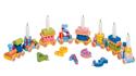 Födelsedagståg med presenter