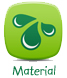 Ekologiska leksaker - Material