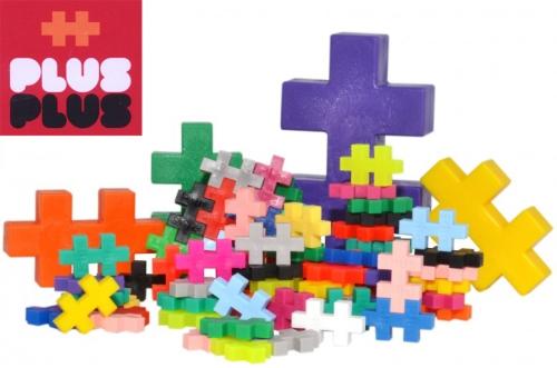 Alla storlekar och färger plus plus byggbitar på ABC Leksaker
