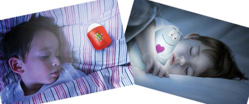 Fina nattlampor för mörkrädda barn