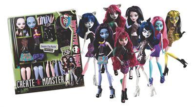 Monster High dockorna utvalts till Årets leksak 2012 (bild från leksaksbranchen)